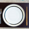 General dinner and lunch set with chop stick — Stock Photo #12696422