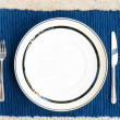 Photo: Dinner set with fork and knife