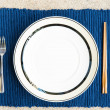 Royalty-Free Stock Photo: General dinner and lunch set with chop stick