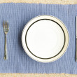 Dinner set with fork and knife - Stock Photo