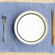General dinner and lunch set with chop stick — Foto Stock #12697705