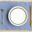 General dinner and lunch set with chop stick — Zdjęcie stockowe #12697705
