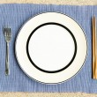 Stock Photo: General dinner and lunch set with chop stick