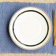 General dinner and lunch set with chop stick — Stock Photo #12697953