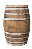 Big old wine barrel — Foto Stock