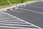 Empty parking lot area — Stock Photo