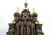 The church of spilled blood — Stock Photo