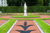 Russian Catherine palace garden statue — Stock Photo