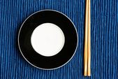 General dinner and lunch set with chop stick — Photo