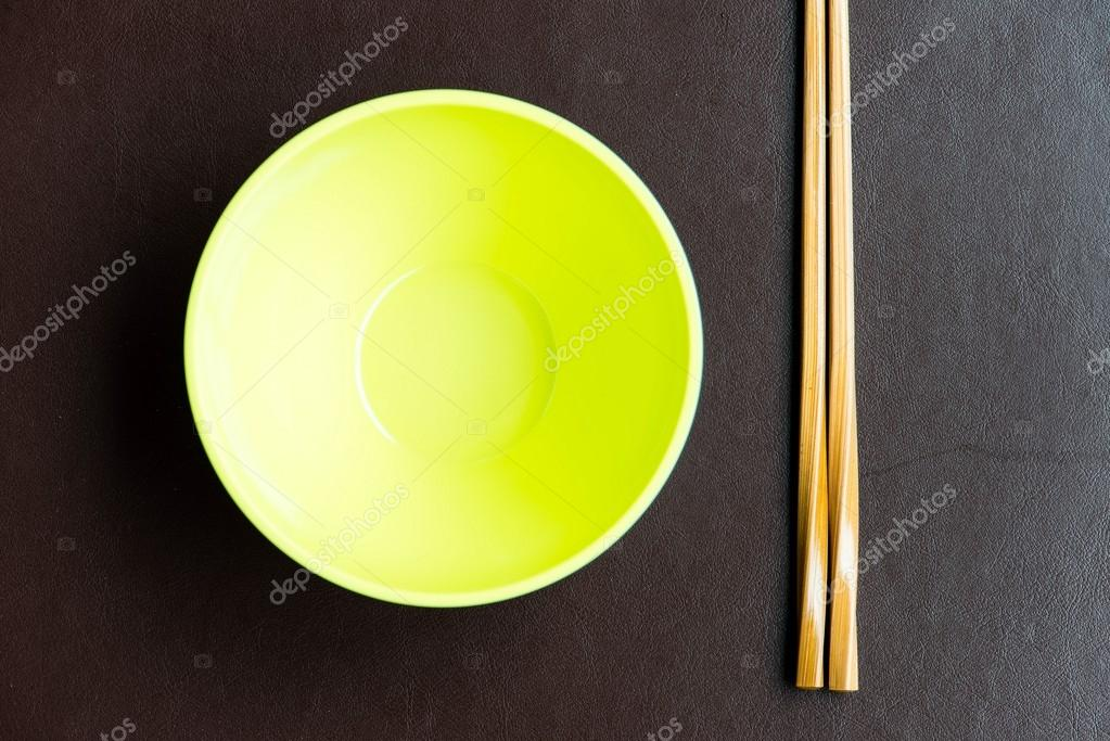 General dinner and lunch set with chop stick, can be use for various foods related concept design and background. — Stock Photo #12698494