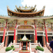 Front of old Chinese temple — Foto Stock