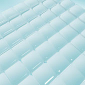 Smooth ice block pattern background — Stock Photo