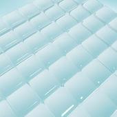 Smooth ice block pattern background — Stock Photo