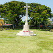 World war two soilder cemetary ground in Thailand — Foto Stock