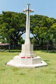 World war two soilder cemetary ground in Thailand — Stock Photo
