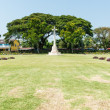 World war two soilder cemetary ground in Thailand - Stock Photo