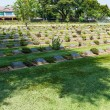 World war two soilder cemetary ground in Thailand — Stok fotoğraf