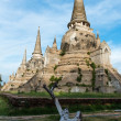 Stock Photo: The ancient city of Thailand