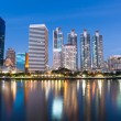 Stock Photo: Bangkok city scape