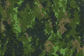 Digital military camo texture — Stock Photo