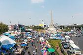 BANGKOK - FEBRUARY 2: Large crowd of Thailand's protest — Stock Photo