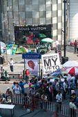 Bangkok - 2. února: velký dav Thajska protestu — Stock fotografie