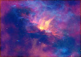 Space stars and nebula — Stock Photo