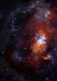 Daleko galaktyki — Zdjęcie stockowe