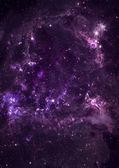 Klein deel van een oneindige ster veld — Stockfoto
