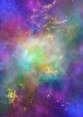 Being shone nebula — Stock Photo