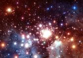 Space stars and nebula — Stock Photo