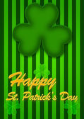 St Patricks Day Abstract background — Stock Photo