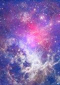 Pequeña parte de un infinito campo de estrella — Foto de Stock