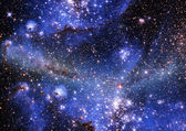Essendo brillava nebulosa — Foto Stock