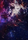 Petite partie d'un champ infini d'étoiles — Photo
