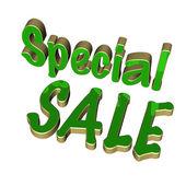 Three dimensional inscription special sale — Foto de Stock