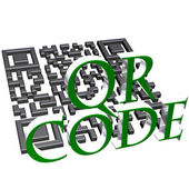 QR code concept — 图库照片