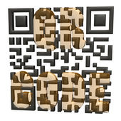 QR code concept — Stock Photo