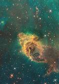 Being shone nebula — Stock Photo