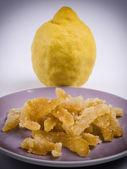 Crystallized citron — Stock Photo