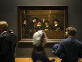 The syndics. Rembrandt (1662) — Stock Photo