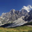 Pale di san martino,dolomites,italy — Stock Photo