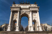 Arch of Peace,Milan,Italy — Stock Photo
