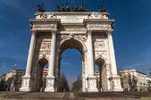 Arch fred, milano, italien — Stockfoto