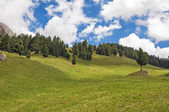 Odles,valley of Funes,south tyrol,Italy. — Foto Stock