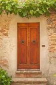 Old door,Tuscany,Italy — Stock Photo