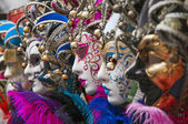 Masks of carnival in Venice,Italy — Stock Photo