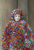 Masks of carnival in Venice,Italy — Stock Photo