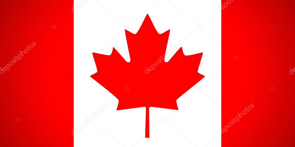 Canada flag. Vector illustration. — Stock Vector #15619889