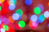 Circular bokeh background for Christmas — Stock Photo